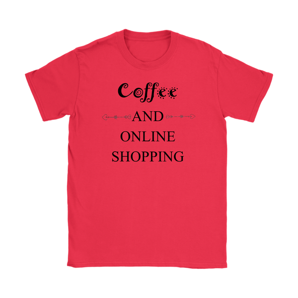 Coffee and Online Shopping