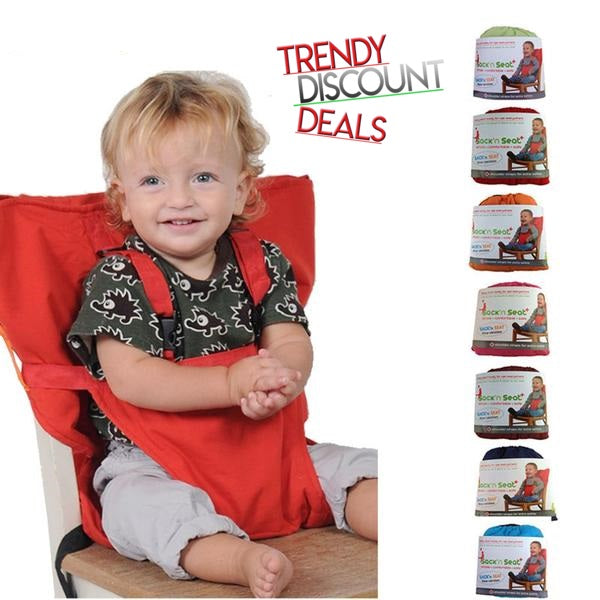 TrendyDiscountDeals™ | Baby Easy Seat Portable - High Chair