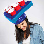 TrendyDiscountDeals™ | Inflatable Beer Pong Hat