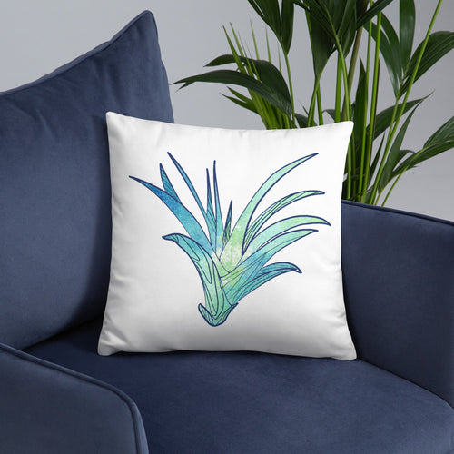 Colorful Air Plant Designed Pillow