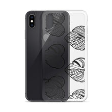Abstract Hearts iPhone Case