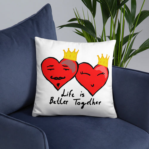 Love is Better Together Pillow