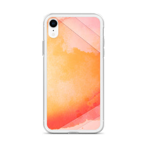 Abstract Watercolor iPhone Case