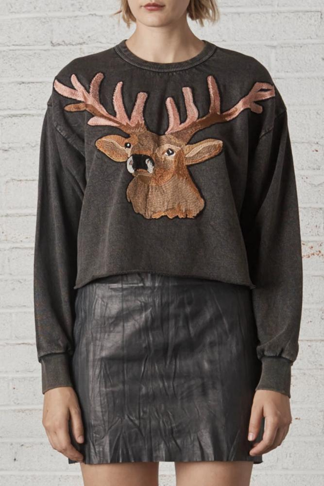 Yukon Stag Sweater