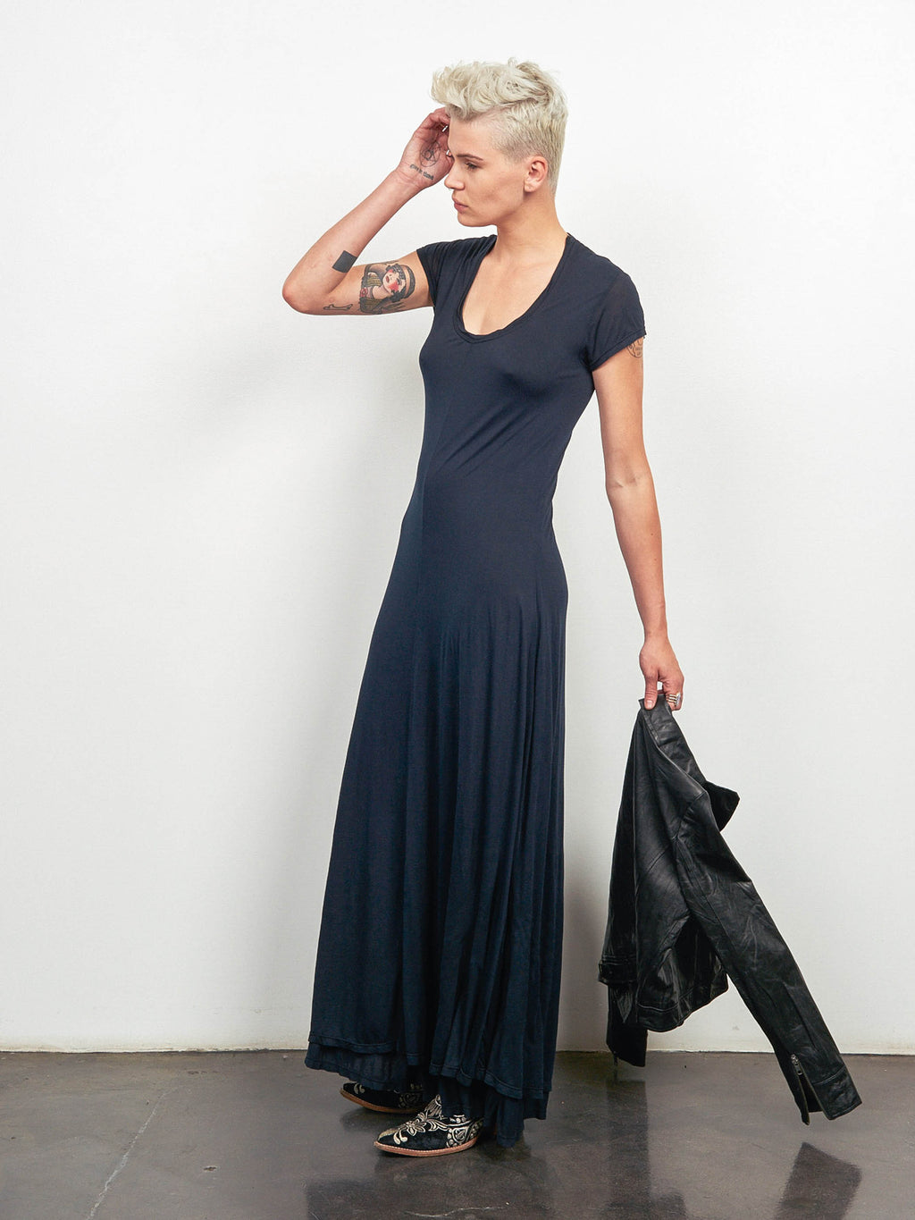 4 Directions Maxi Dress - Black