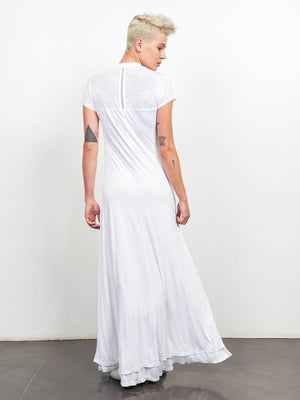 4 Directions Maxi Dress - White