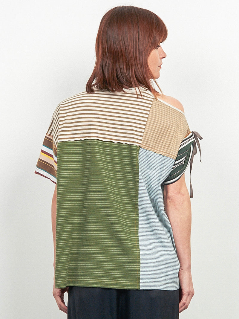 Upcycled Stripe Shirt