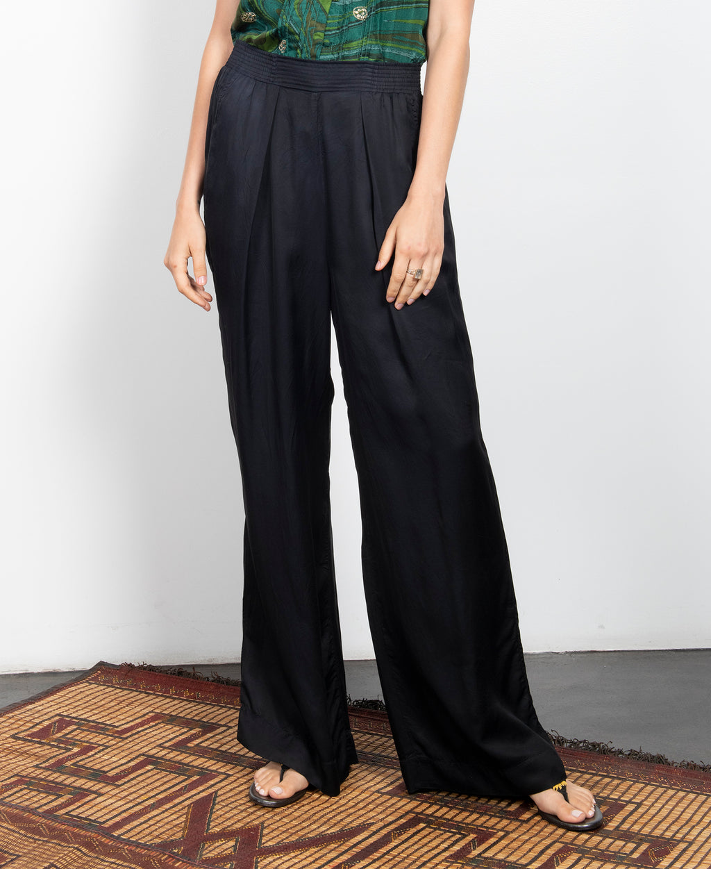 Elements Wide Leg Pant Black