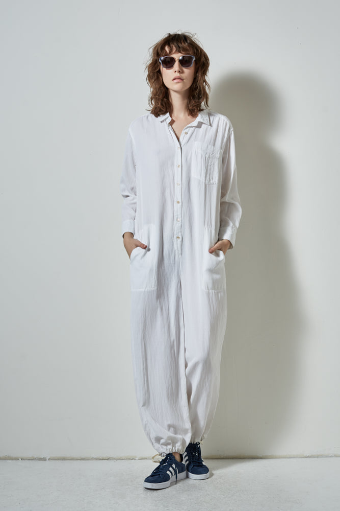 CORE JUMPSUIT, WHITE