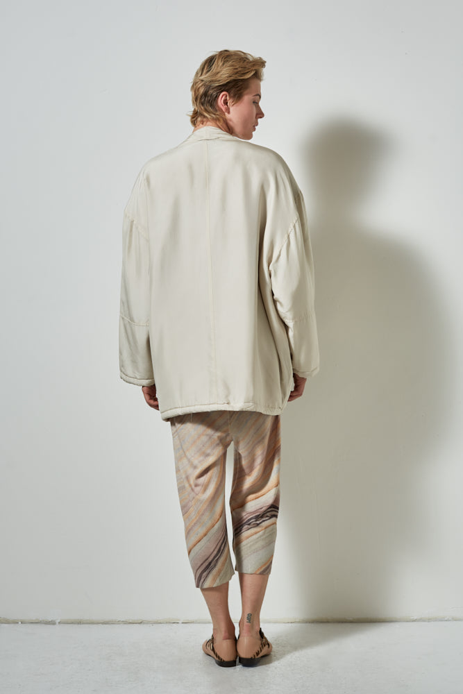 Arches Silk Jacket Soft Sand