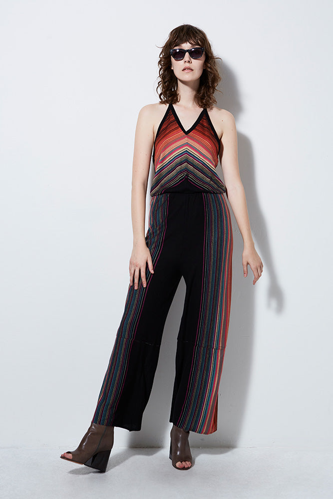 ROXY JUMPSUIT | 70's inspired wide leg jumpsuit | Burning Torch