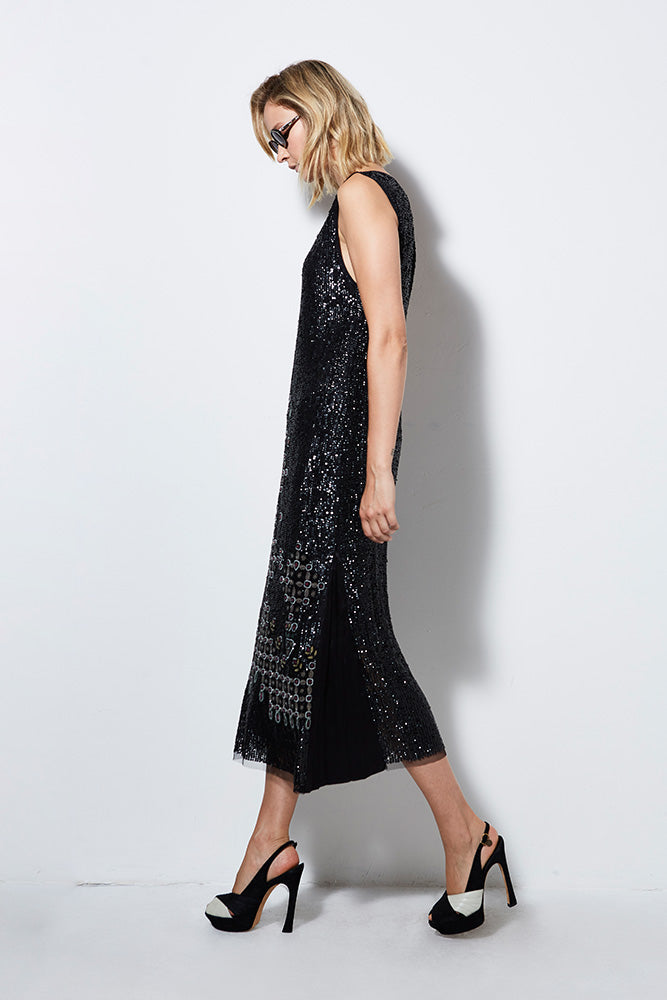 TWIGGY BEADED DRESS