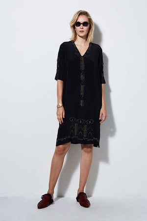TONQUIN DRESS - BLACK