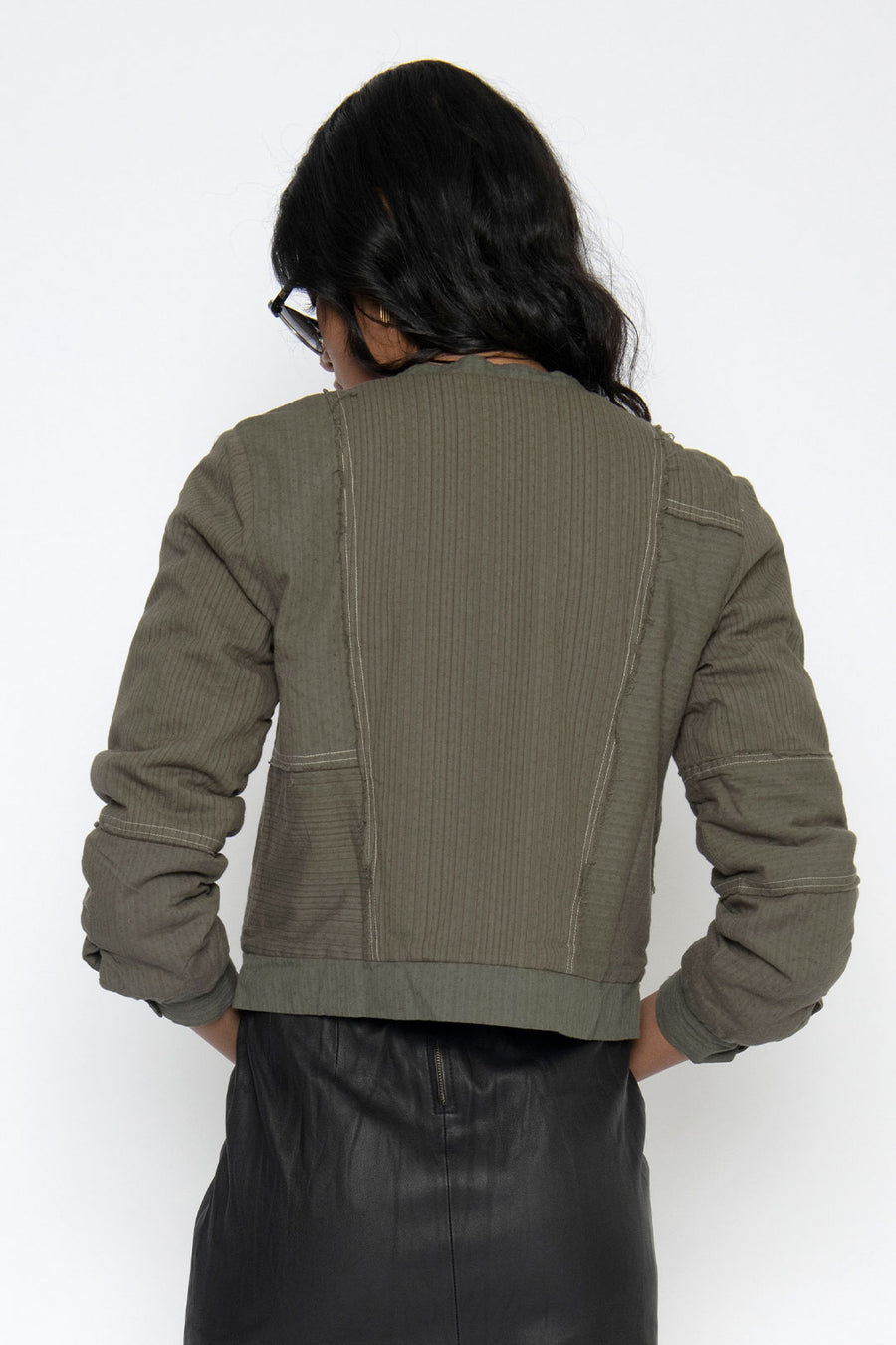 BODIE JAPANESE COTTON JACKET - ARMY