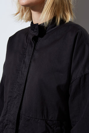 AGRAS JACKET, VINTAGE BLACK | BURNING TORCH