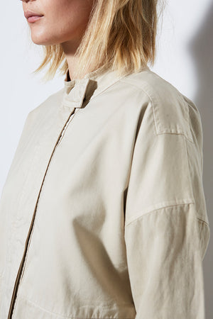 AGRAS JACKET, SAND | MODERN UTILITY JACKET | BURNING TORCH