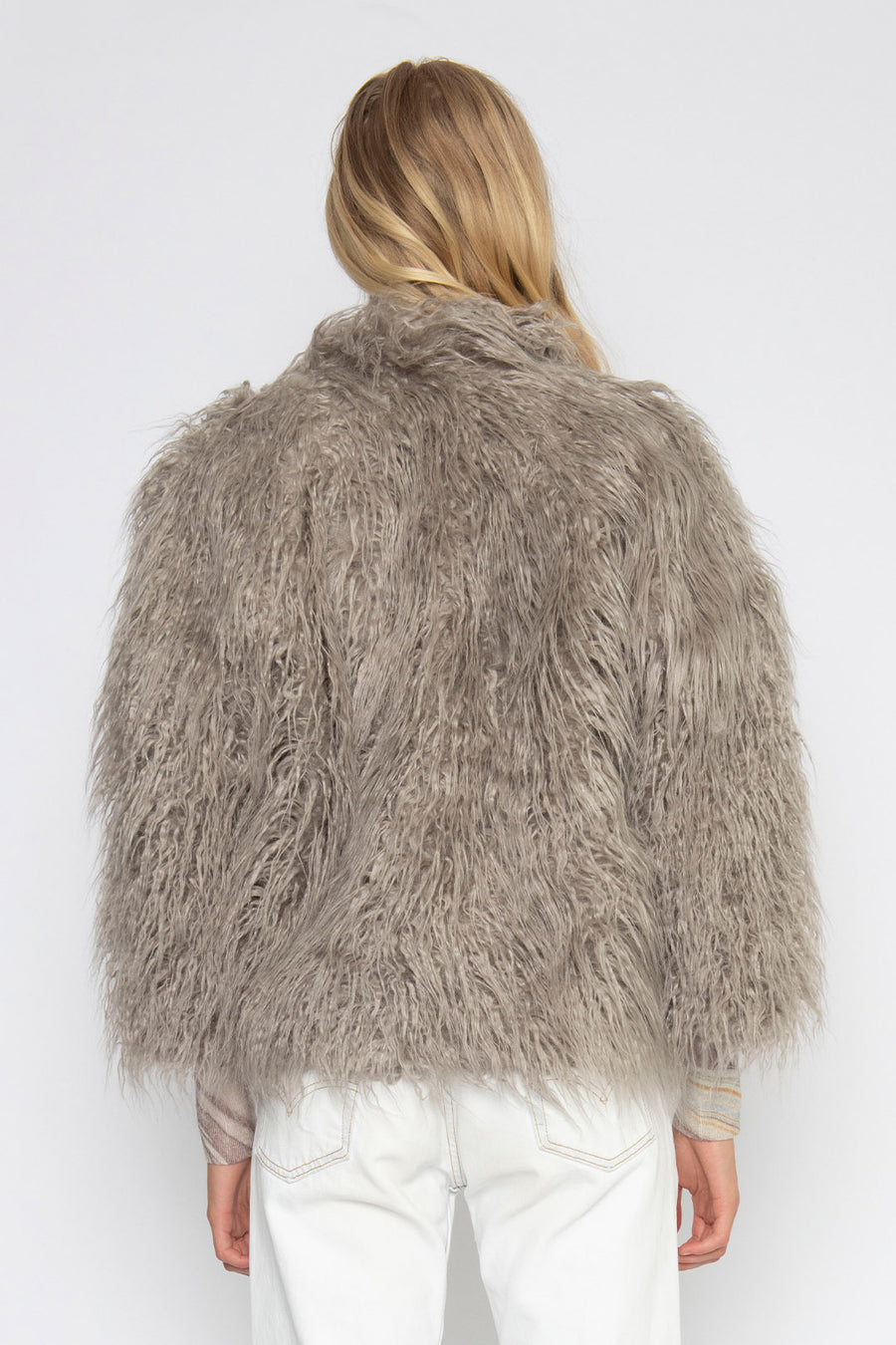 NIMBUS FAUX FUR JACKET