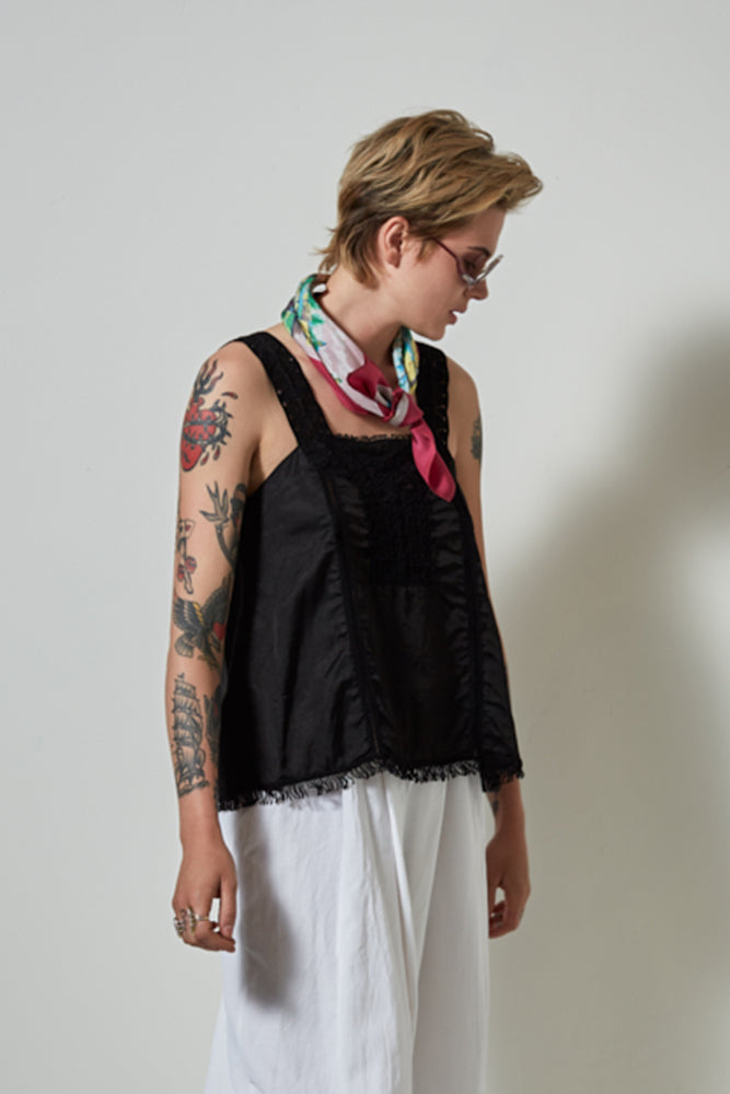 PFEIFFER TANK TOP - Black