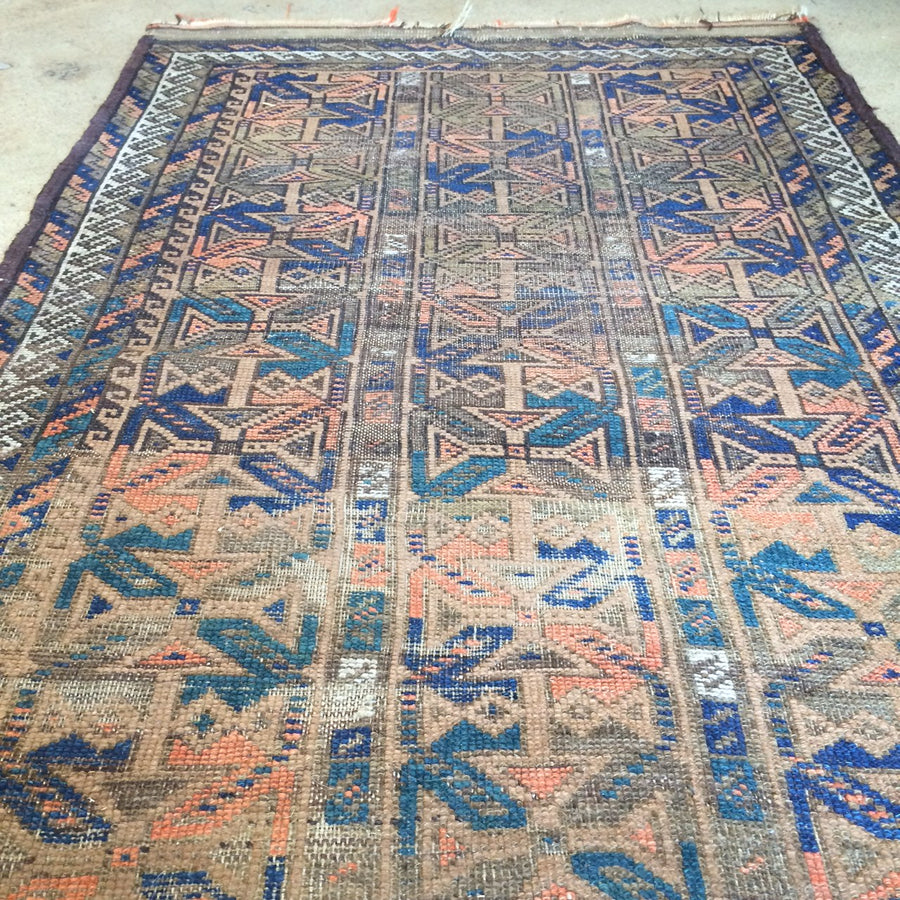 Small Antique Kilim Rug