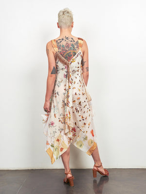 Upcycled Scarves Dress