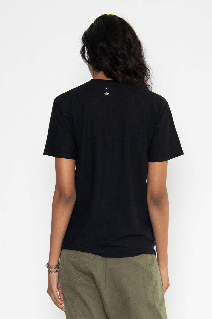 SHORT SLEEVE HOME TEE, BLACK