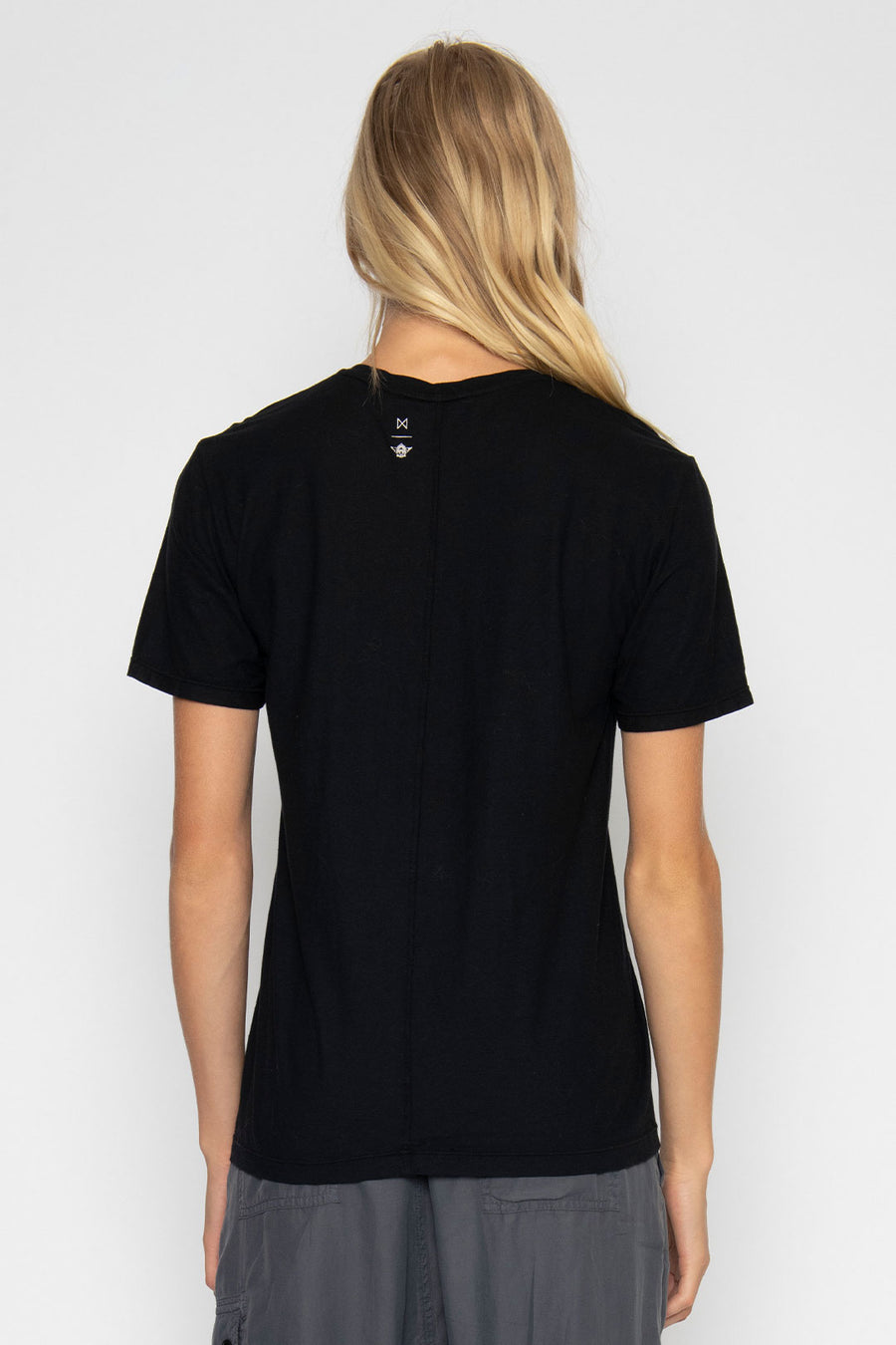 SHORT SLEEVE LA MAP TEE, BLACK