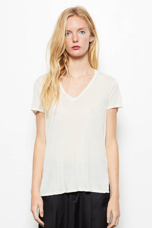 4 Directions V-Neck Tee Shirt Natural