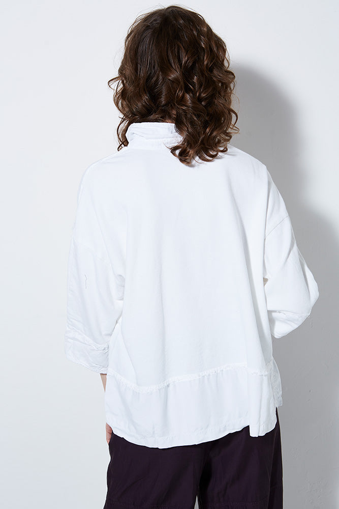 UNION PULLOVER SHIRT, WHITE