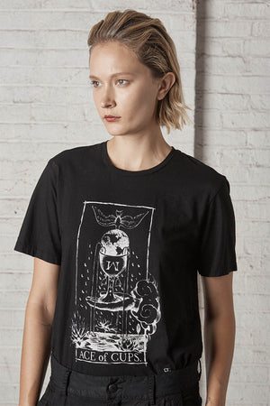 Ace of Cups Tee Black