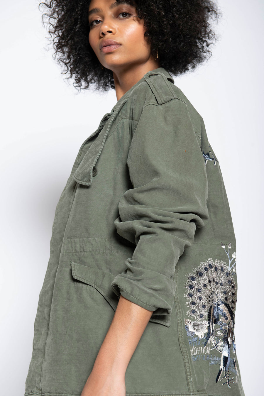 ADVENTURE UPCYCLED VINTAGE ARMY JACKET