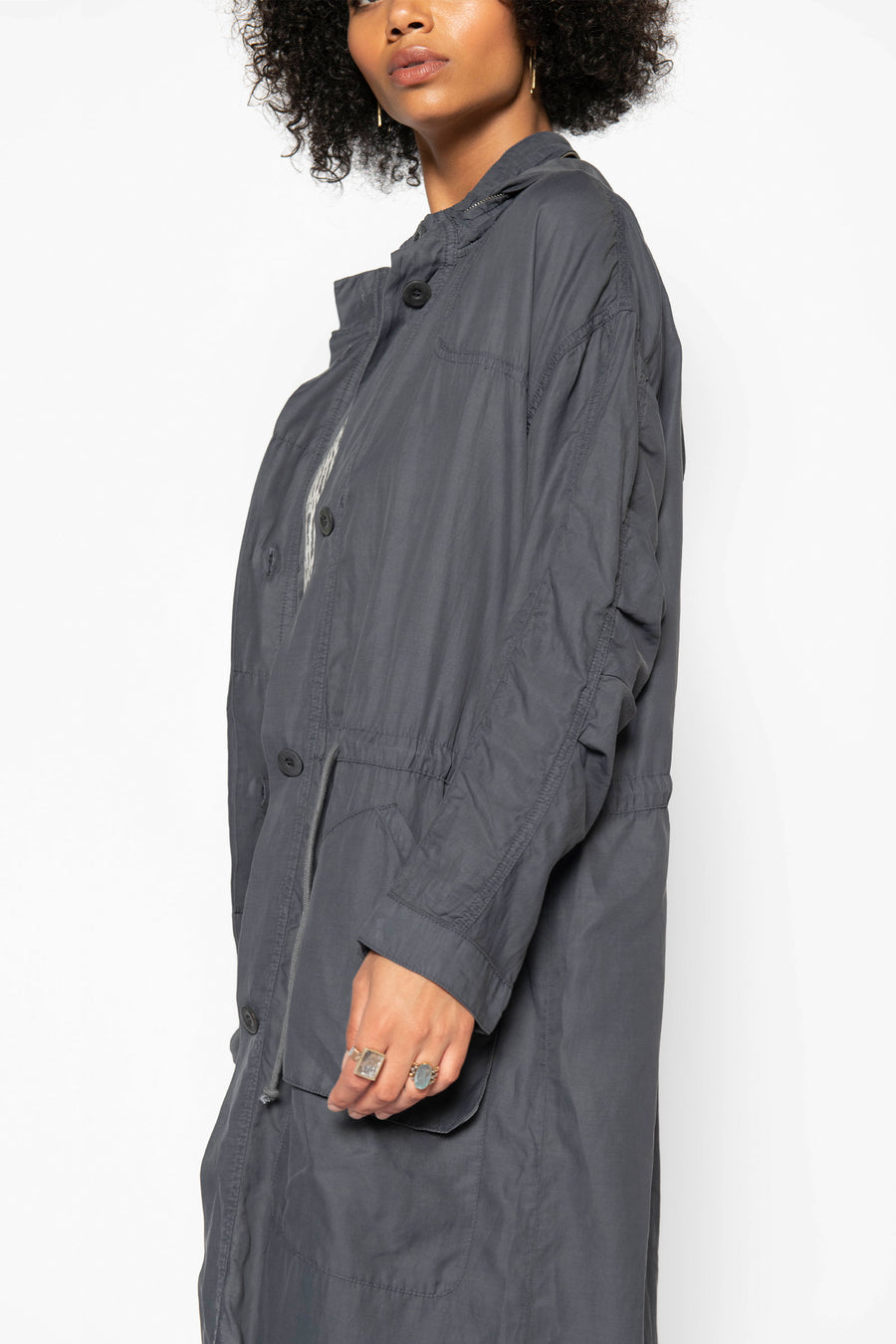 CIRRUS TRENCH COAT, STORM