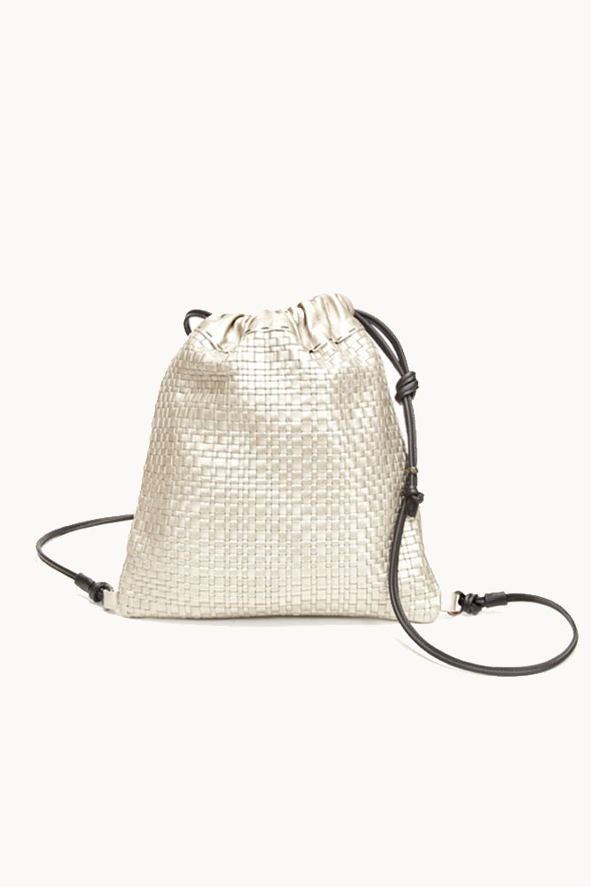 Henry Beguelin WOVEN METALLIC BACKPACK