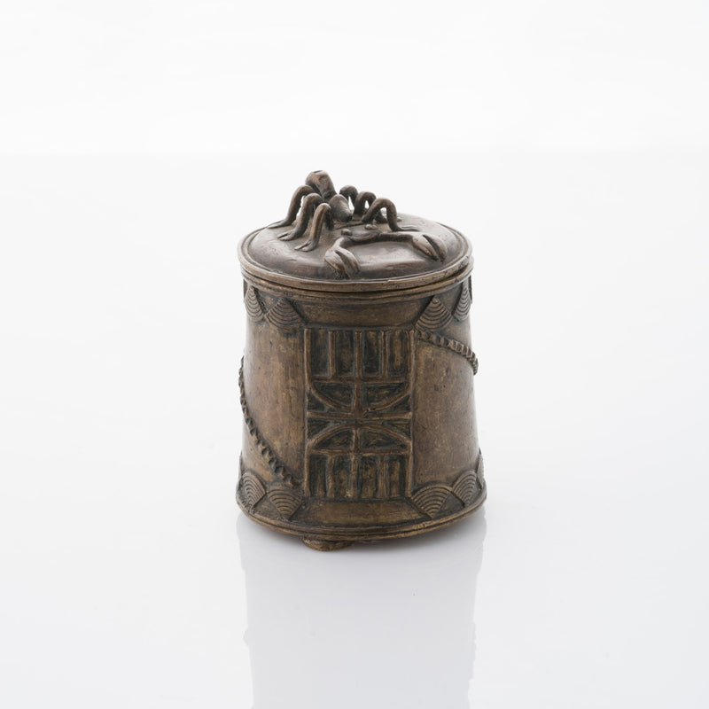 African Bronze Spider Box