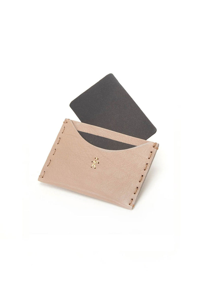 Henry Beguelin Card Holder Taupe