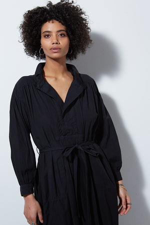 CAPSULE DOHENY DRESS, VINTAGE BLACK