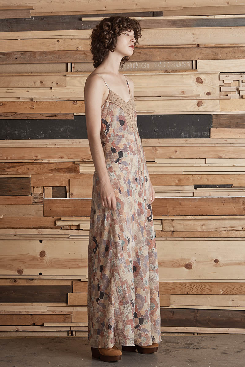 ⭐️ El Finn Printed Long Slip Dress