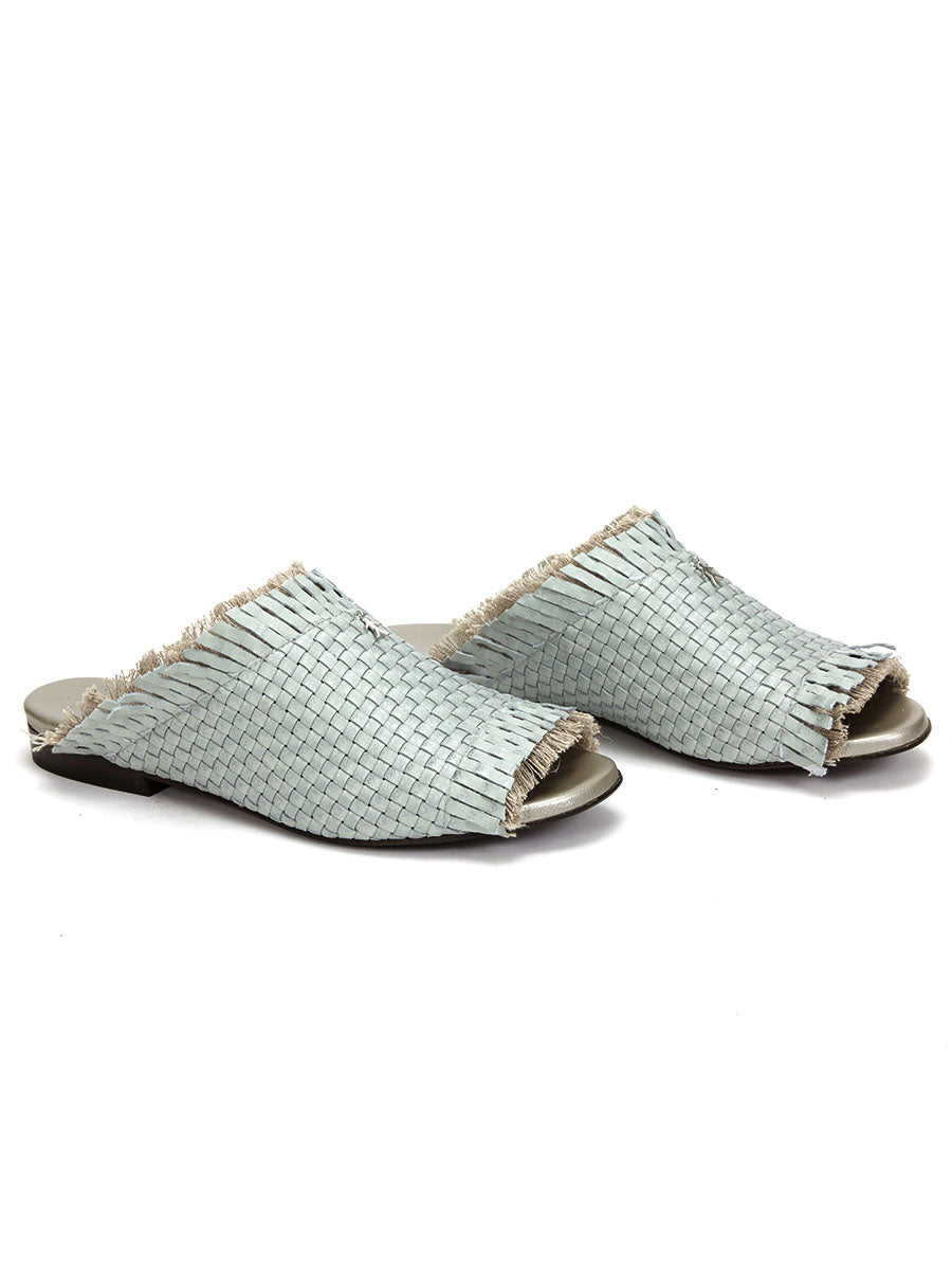 Henry Beguelin Ciabattina Mules Mint