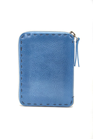 HENRY BEGUELIN ZIP WALLET - BLUE
