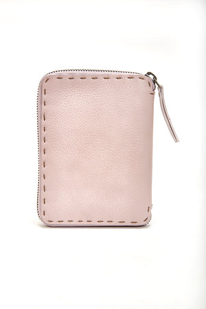 HENRY BEGUELIN ZIP WALLET - MAUVE