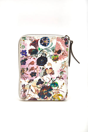 HENRY BEGUELIN ZIP WALLET - FLORAL