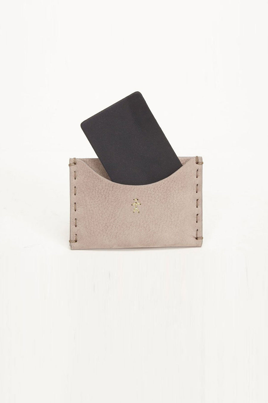 Henry Beguelin Card Holder Mauve