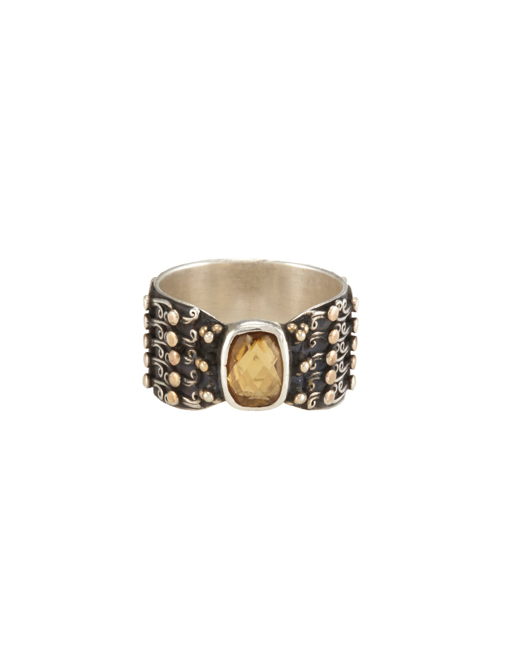 Hydra Citrine Ring