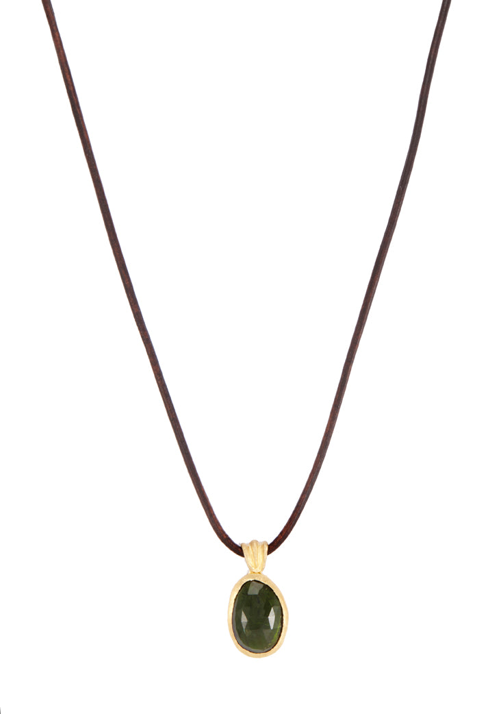 Umi Green Tourmaline Necklace