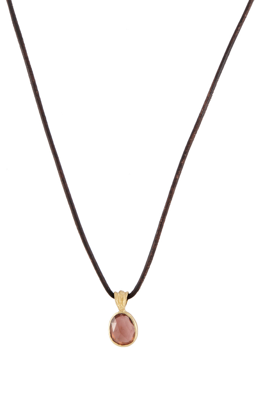 Umi Peach Tourmaline Necklace