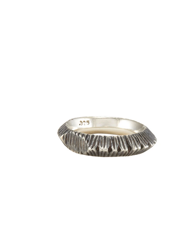 STERLING SILVER BIMO RING