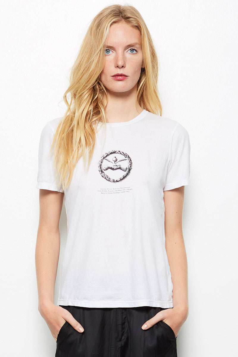 Pomegranate Tee Ivory