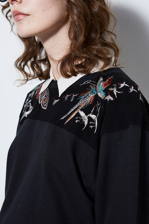 PHOENIX EMBROIDERED PULLOVER