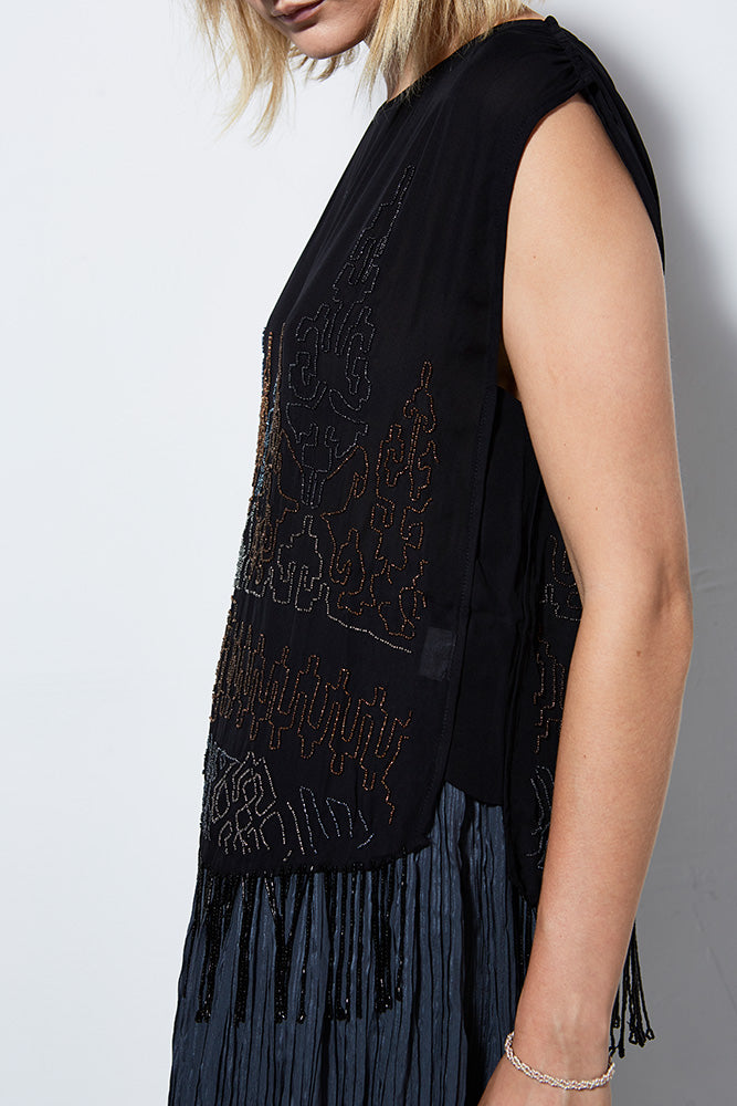 NIGHTFALL BEADED TANK
