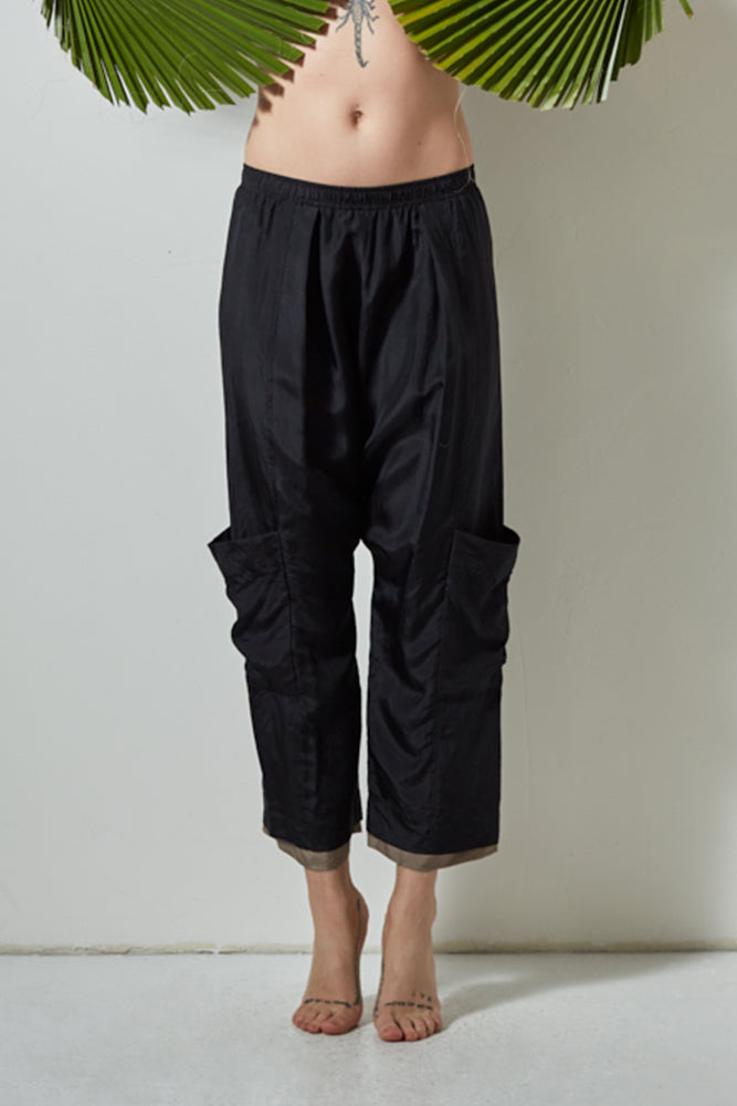 ARCHES CARGO PANT- SOFT BLACK