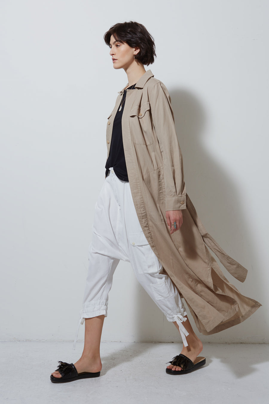 CORE COAT , KHAKI